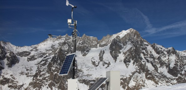 Monitoring of the Planpincieux Glacier