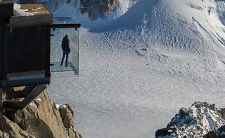 Step into the void Chamonix