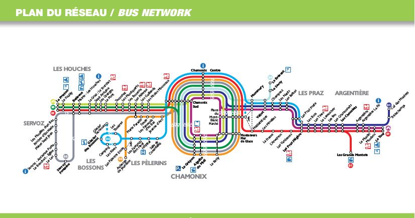 Chamonix Bus Timetables 2015 - Bus system in Chamonix