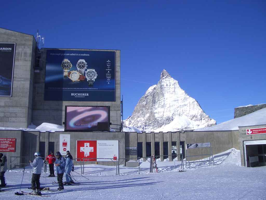 sightseeing switzerland matterhorn