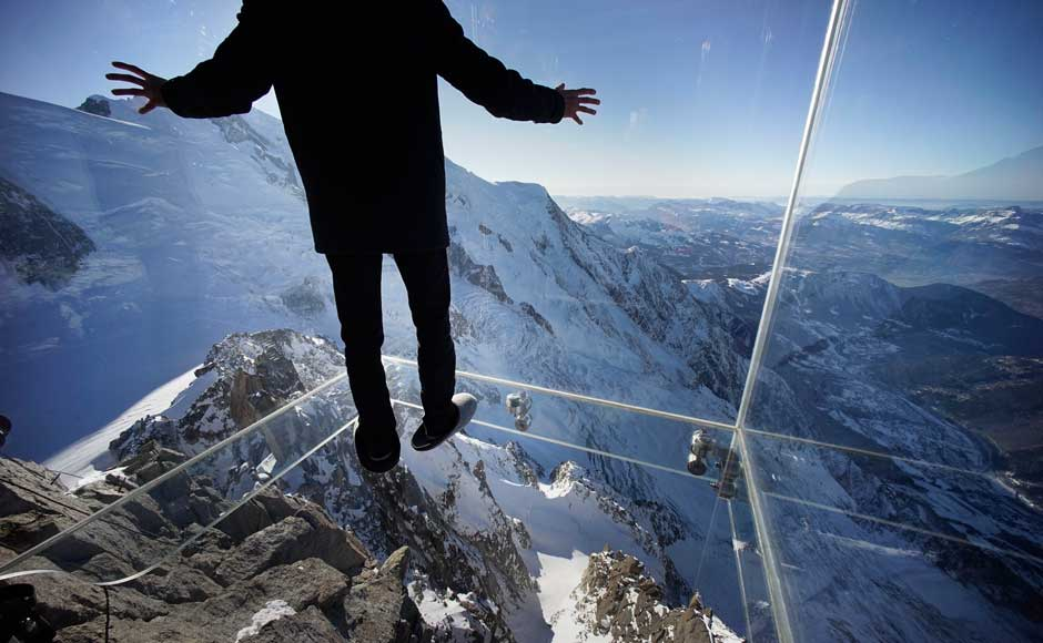 Step into the Void Aiguille du Midi