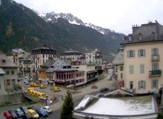 Chamonix Town Webcam