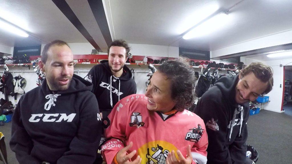 Rencontre avec les Pionniers de Chamonix. Photo source: @montblanclive.com