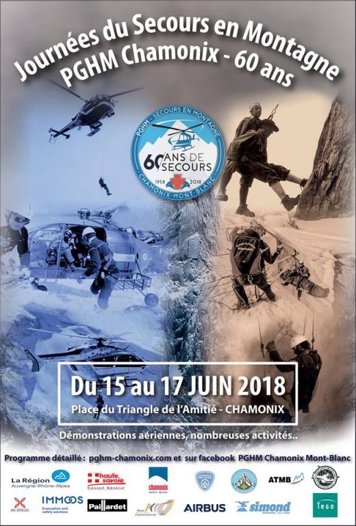PGHM poster 2018. Photo source: @ facebook.com/pghm.chamonixmontblanc