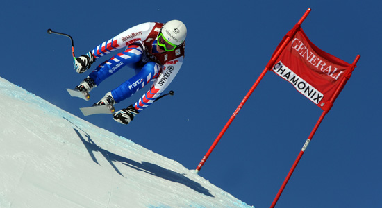 World Cup of Alpin Ski Kandahar is held on the famous