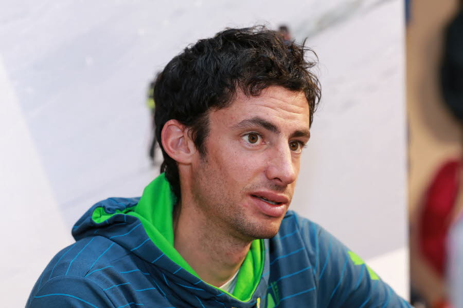 Kilian Jornet, the triple winner of the 2008, 2009 and 2011 editions of UTMB