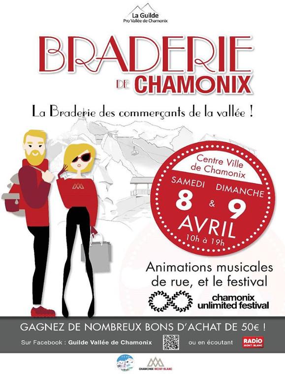 Poster of the Braderie des Commerçants