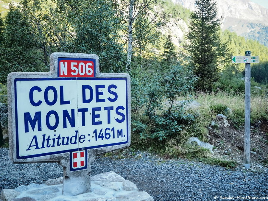 Col des Montets. Photo source: @randos-montblanc.com