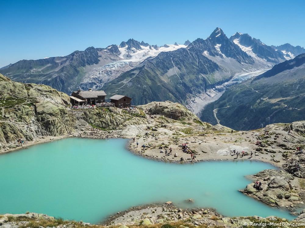 Lac Blanc. Source de la photo: @ randos-montblanc.com