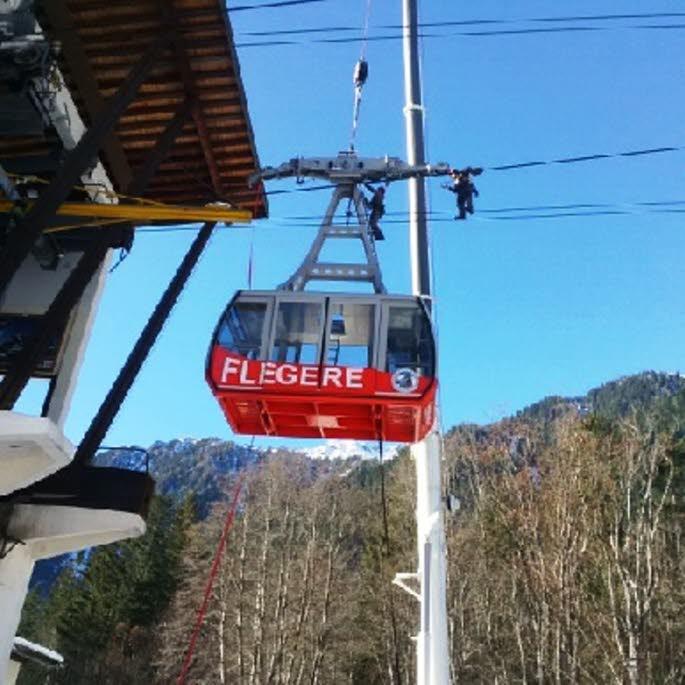 New cable-cars for the Flégère lift
