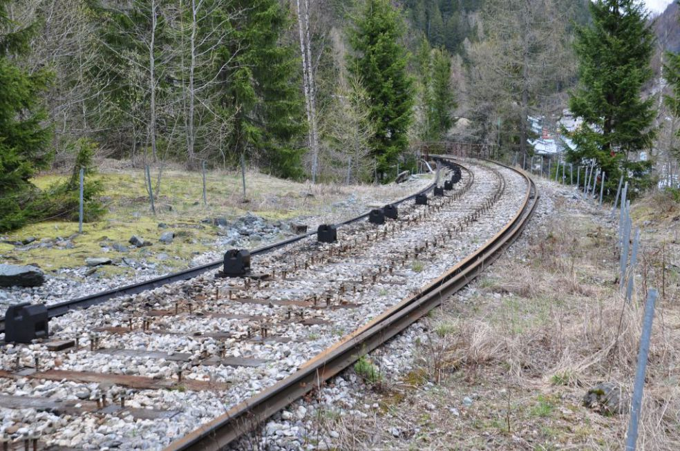 Railway to Vallorcine