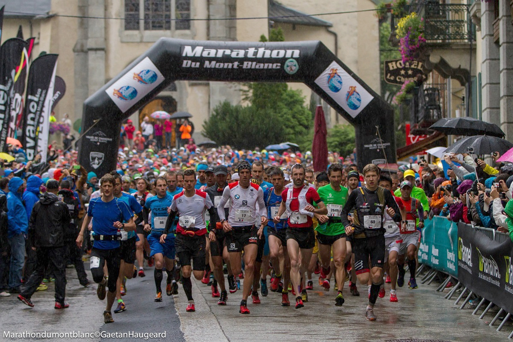 Marathon du Mont-Blanc 2018. Photo source: @sportstoursinternational.fr