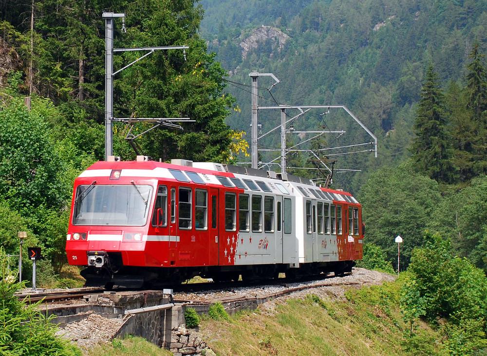 Mont-Blanc-Express. Source de la photo: @ wikipedia.com