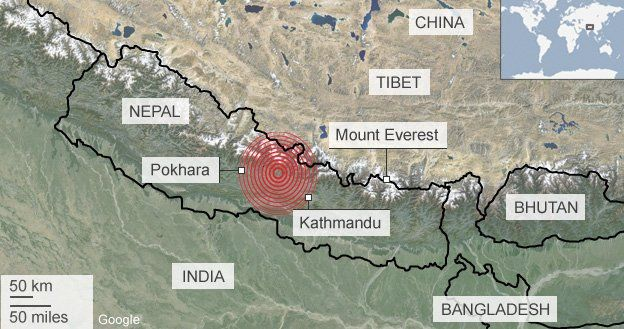 Everest Earthquake
