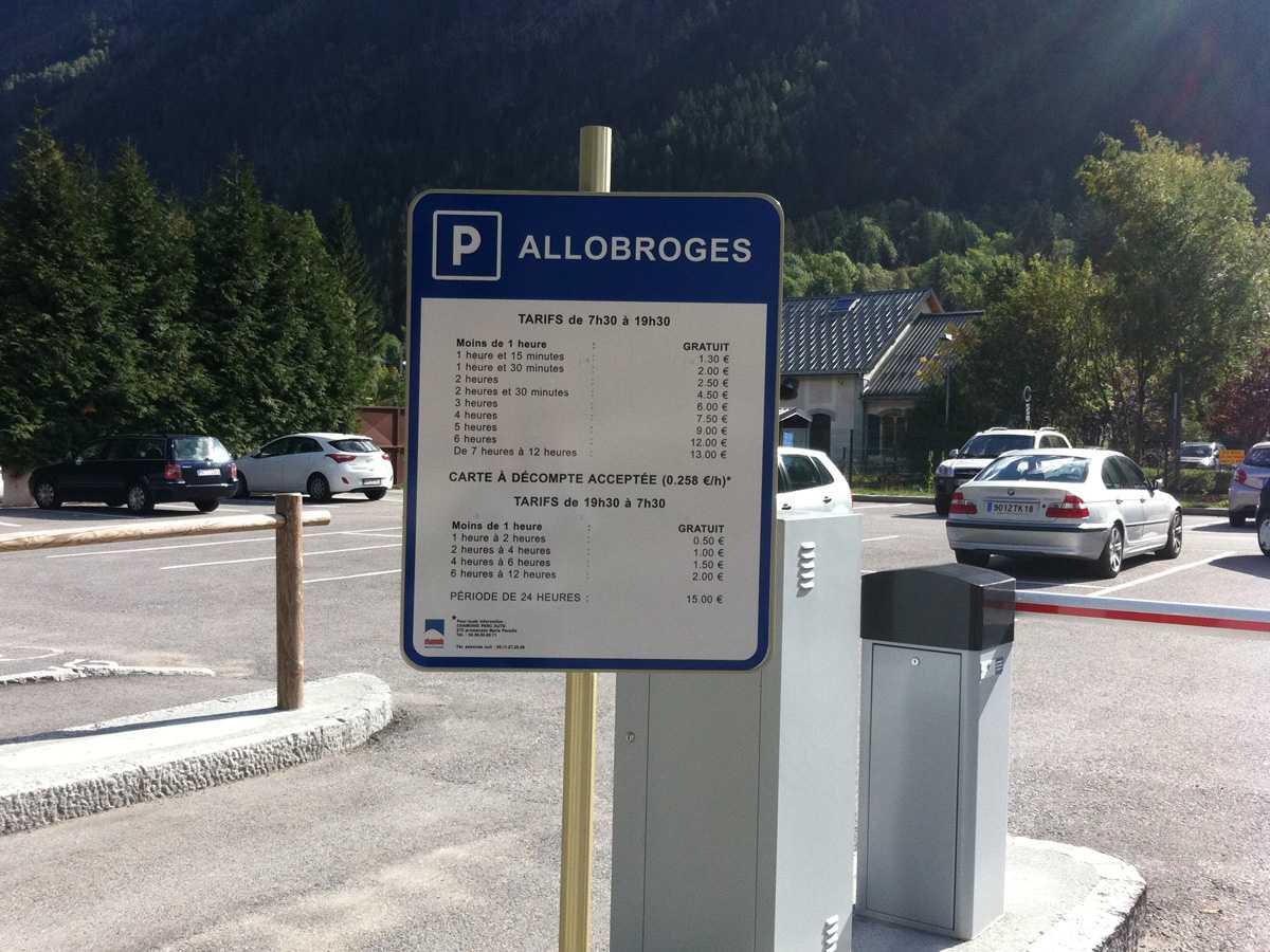 Les Parkings A Chamonix