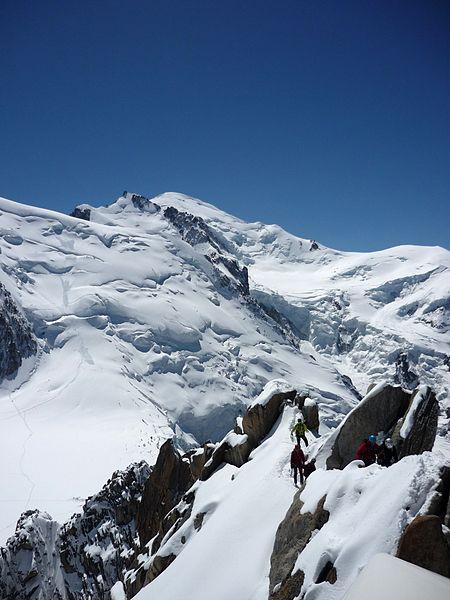Climbing Mont Blanc Routes - Cosmique Route and Gouter Hut