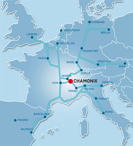Chamonix MontBlanc France Tourist and General Information
