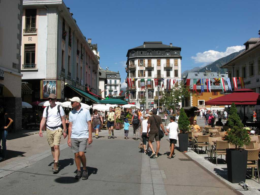 Chamonix mont blanc france tourist and general information for Chamonix piscine