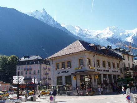 Poste de Chamonix, Place Balmat