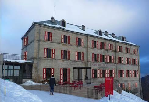 Rénovation Grand Hôtel du Montenvers. source : www.compagniedumontblanc.fr
