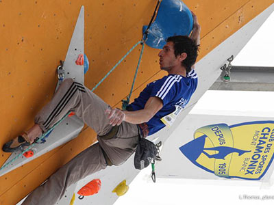 Romain Desgranges climber from Chamonix