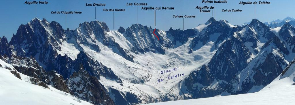 Aiguille Qui Remue (3724 m), the Courtes sector. photo source : www.camptocamp.org