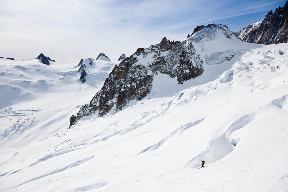 Mont-Blanc, Chamonix valley