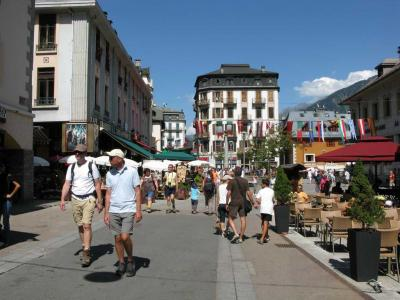 Chamonix Town Center, Chamonix main square