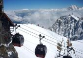 Panoramic Mont-Blanc gondola, Aiguille du Midi, by Rémih, licensed under CC-BY 3.0, found on https://commons.wikimedia.org/