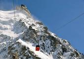 Aiguille du Midi - Closing 2nd section cable car