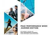 The Peak Performance week Chamonix 2018
