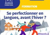 CCI Formation propose des cours de langue intensifs en anglais, italien, russe et français en novembre 2020.