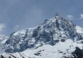 North Face of the Aiguille du Midi. photo sourc : @www.camptocamp.org
