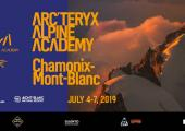 2019 Arc'Teryx Alpine Academy, photo source @facebook.com
