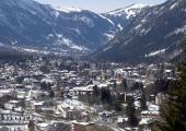 Les émissions de dioxyde d'azote ont considérablement diminué dans la vallée de Chamonix (photo) depuis le confinement provoqué par le coronavirus COVID-19. Auteur phileole, sous licence CC BY 2.0, photo source @ flickr.com