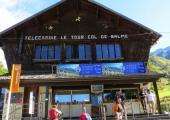 Une enquête publique sur le projet de remplacement de la télécabine de Charamillon et des équipements associés sur le domaine skiable de Balme. Source de la photo @PlanetChamonix