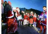 The Christmas festivities have begun in Chamonix, photo source @LeDauphine