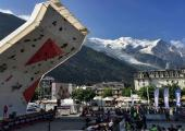 Climbing World Cup in Chamonix 2018.Photo source:@pressnut.com
