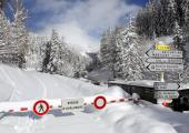 closing of Col des Montets