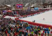 Kandahar: only alpine ski world cup event organized since 1948. Photo source: @chamonix.fr