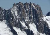 La Brèche des Droite, couloir located in the Mont-Blanc massif. Photo source: @toponymage.free.fr