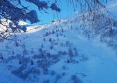 Ski de Randonnée sur les pistes au Le Tour Chamonix Balme 2020