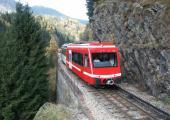 Le train Mont-Blanc-Express. Photo source : @www.chamonix.com