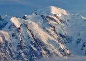 The Mont-Blanc summit is the highest peak of the Alpes (4,810 m or 15,781 ft).