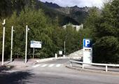 The Mont-Blanc car park closed from May 13th to May 24th 2019