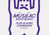 Musilac Mont-Blanc 2018: new poster. Photo source: @www.facebook.com/musilacmontblanc