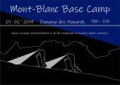 Camp de base du Mont-Blanc - affiche de la soirée de ski de randonnée