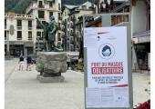 Chamonix: face mask is mandatory
