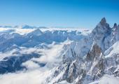 Les deux Italiens sont décédés alors qu'ils skiaient hors-piste depuis Punta Helbronner, photo source @ commons.wikimedia.org