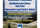 You are invited to a public meeting on: Presentation of the replacement project for the Flégère cable car / gondola
